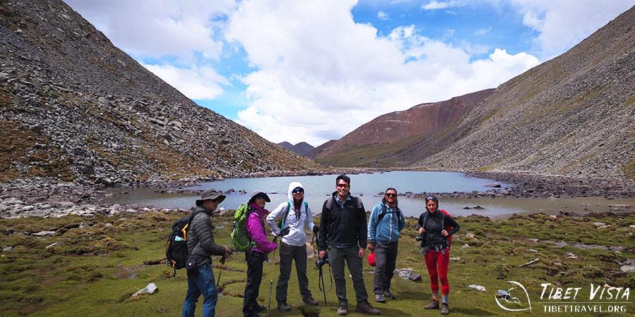 Trek from Ganden to Samye