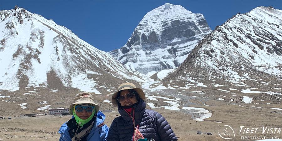 Enjoying the awesome 3-day trek around Mount Kailash