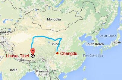 Chengdu Lhasa Train Tour