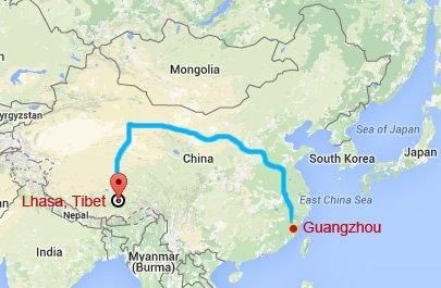 Guangzhou Tibet Train