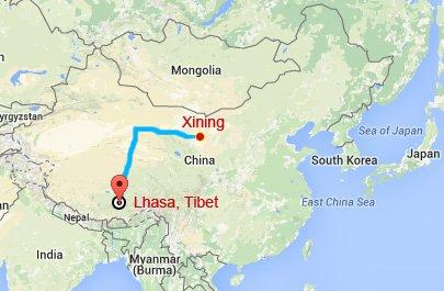 Xining Lhasa Train Tour
