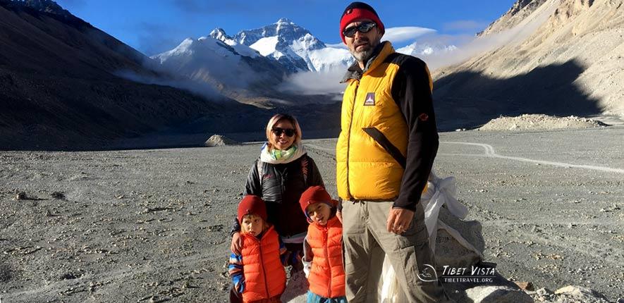 family tour tibet