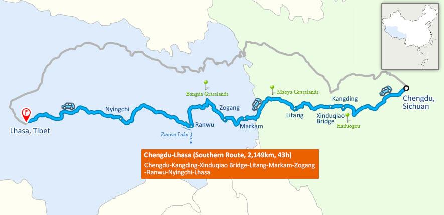 sichuan tibet highway