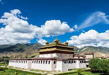 Samye Monastery, the first Buddhsit monastery in Tibet